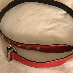 COACH leather belt